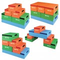 Sectional Blocks 2.0 Set of 6 Blocks Bright Colors