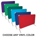 """PVC Divider Wall Section, 36"""" H x 50"""" L"""