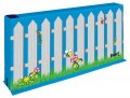 "Divider Wall Section with Picket Fence Graphic, 26"" x 60"" x 6"""