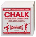 Taiwanese Gymnastic Block Chalk, Single One-lb Box *FREE SHIPPING!*