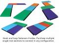 """Panel Mat Section, Soft Poly Foam Filler, 2' x 6' x 2"""""""