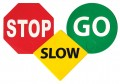 Stop, Slow, Go Set of 3
