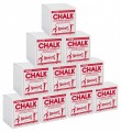 Taiwanese Gymnastic Block Chalk, 10 One-lb Boxes *FREE SHIPPING!*