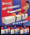 Soft Pommels, 6 piece set