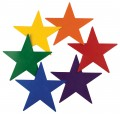 Rainbow Stars, Set of 6