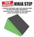 Ninja Obstacle Course Single Slanted Step (New Design)