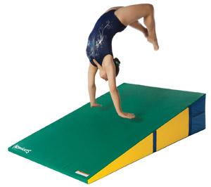 loading for wedge open inclines training mats gymnasts aids wedges foldingwedge mat folding gymnastics