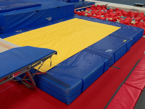 Gymnastic Mats Competition Landing Mats Double Mini
