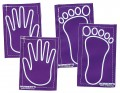 Sticky Hands/Feet, Set of 4